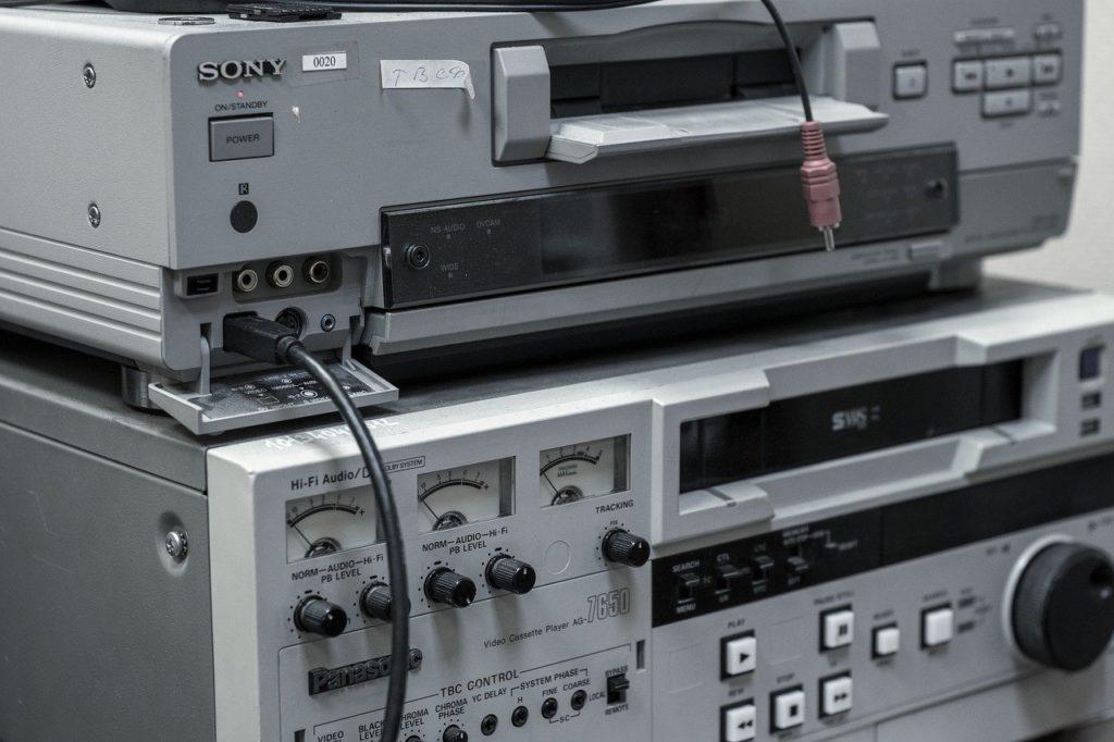Magnétoscope Vhs et MiniDV