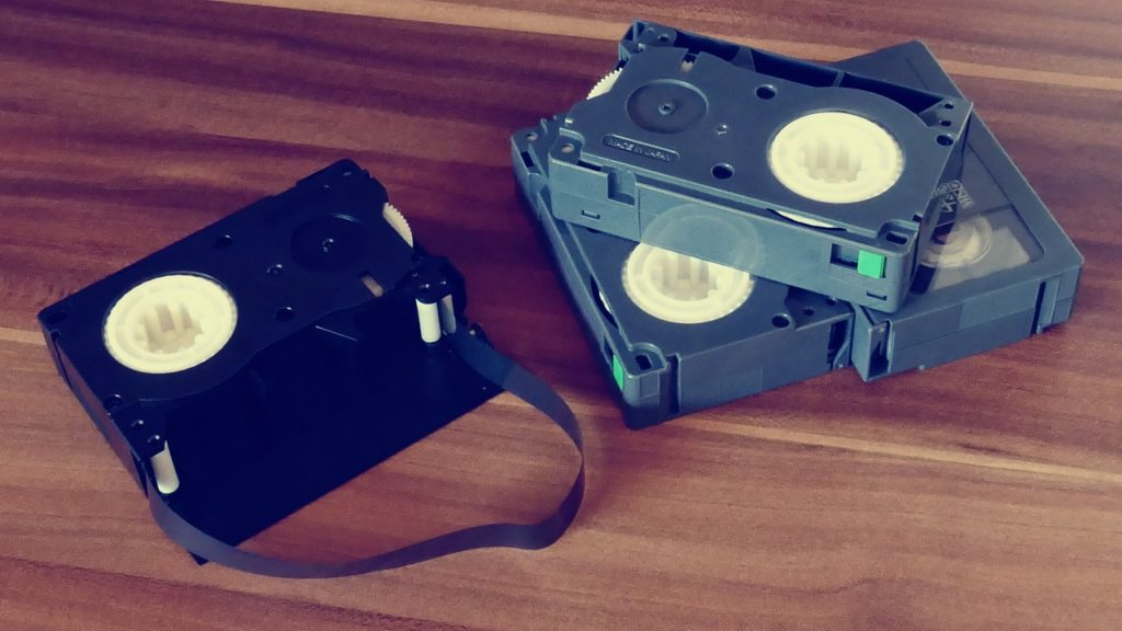 bande cassette vhs/c